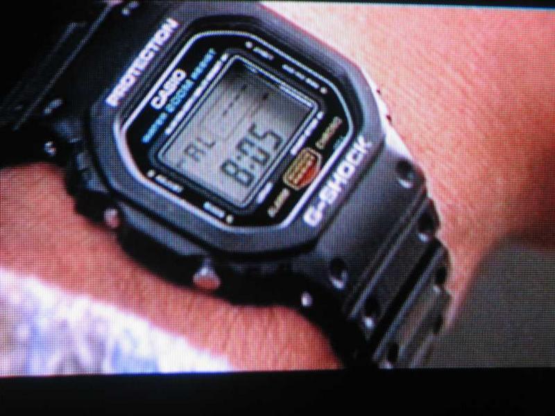 [Casio on TV] Keanu Reeves is wearing G-Shock DW-5600C
