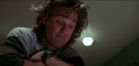 [Casio on TV] Kurt Russell is wearing G-Shock DW-5700C