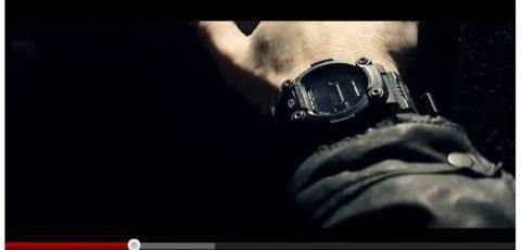 [Casio on TV] Eminem is wearing G-Shock GW-7900B-1