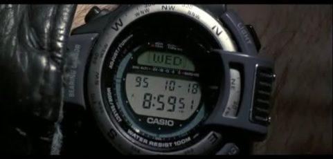 [Casio on TV] Jonny Lee Miller is wearing ProTrek ATC-1100