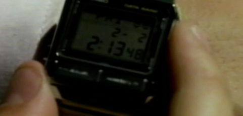 [Casio on TV] Drew Stargrove is wearing Casio UC-2000