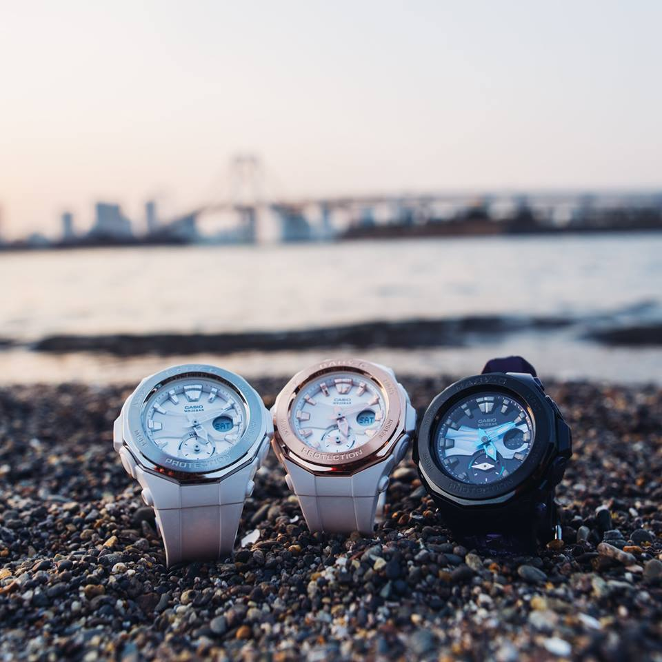 Daydreaming about the weekend with Baby-G BGA-220 -1
