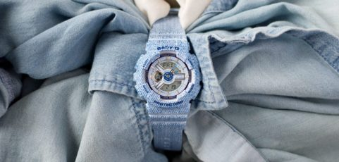 [Live Photos] Find more about the denim style BABY-G