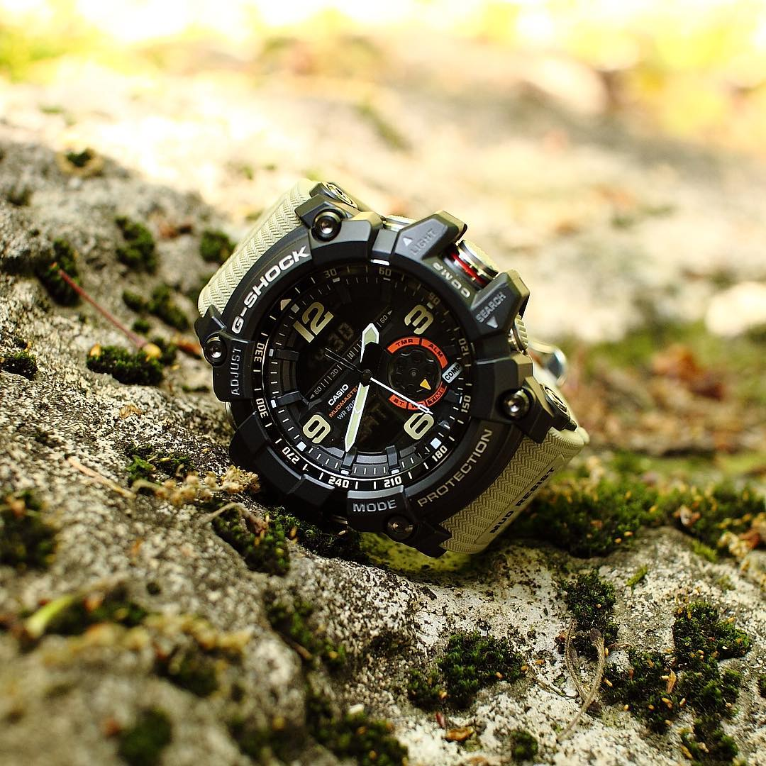 [Live Photos] G-Shock MASTER OF G MUDMASTER GG-1000-1A5JF