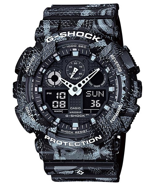 [May 2016] G-SHOCK × MARCELO BURLON Collaboration Model GA-100MRB-1A
