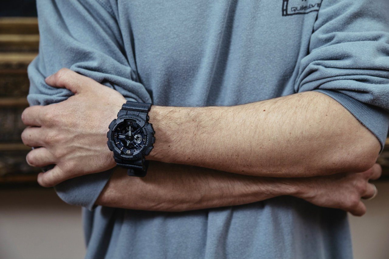 [Live Photos] G-Shock Denim GA-110DC-1A in New Lookbook SS16
