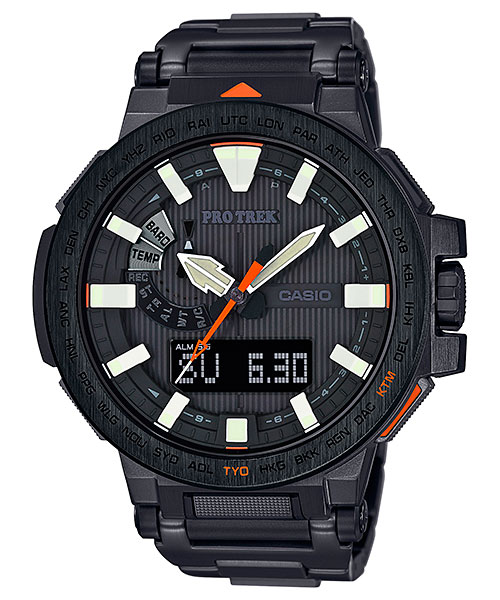How to set time on ProTrek PRX-8163 / Casio 5470