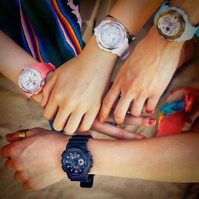 [Live Photos] BABY-G New Model Beach Glamping Series