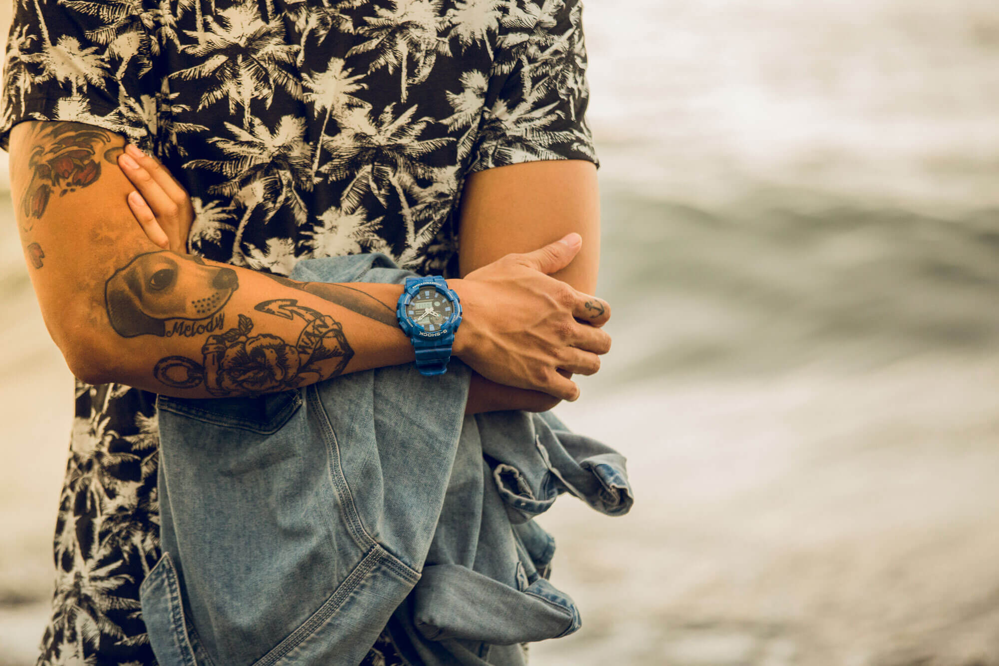 [Live Photos] G-SHOCK-G G-LIDE  Summer Lookbook – GAX-100MB-2A