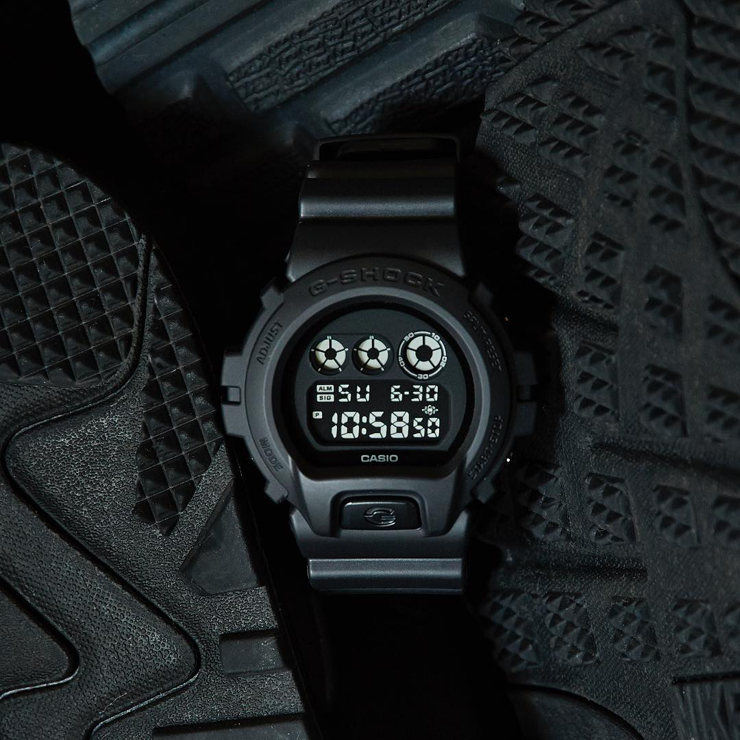 [Live Photos] G-Shock BLACK OUT BASIC DW-6900BB-1JF