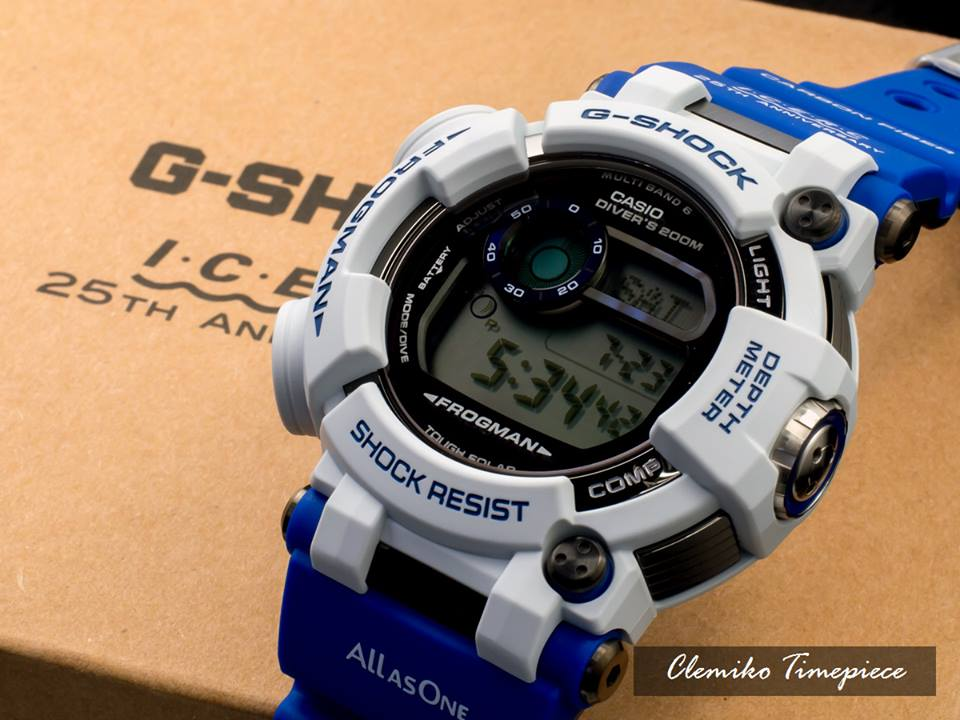 [Live Photos] G-Shock Frogman GWF-D1000K-7JR Love The Sea And The Earth 2016