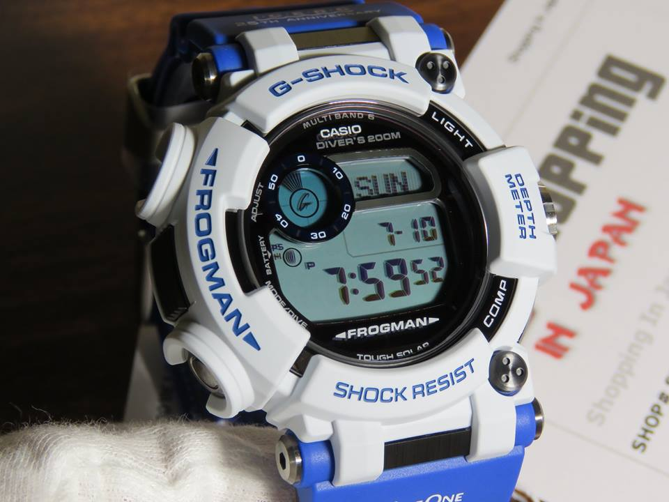 [Live Photos] G-Shock Frogman Love The Sea And The Earth GWF-D1000K-7JR Whale and Dolphin