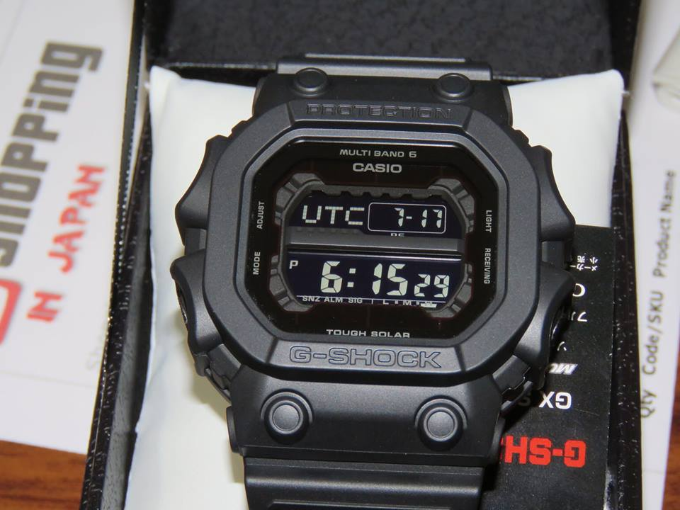G-Shock The King Stealth Black Series GXW-56BB-1JF with