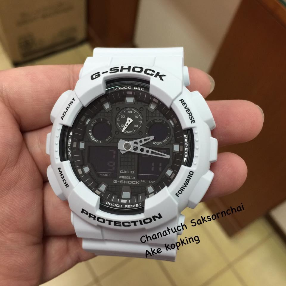 G Shock Ga 100 Layered Colour Series Casio 100l 1a Live Photos 5
