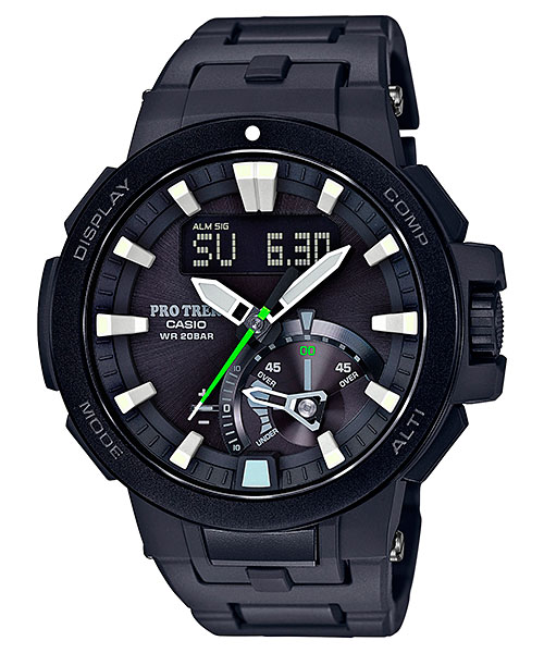 How to set time on ProTrek PRW-7000 / Casio 5480