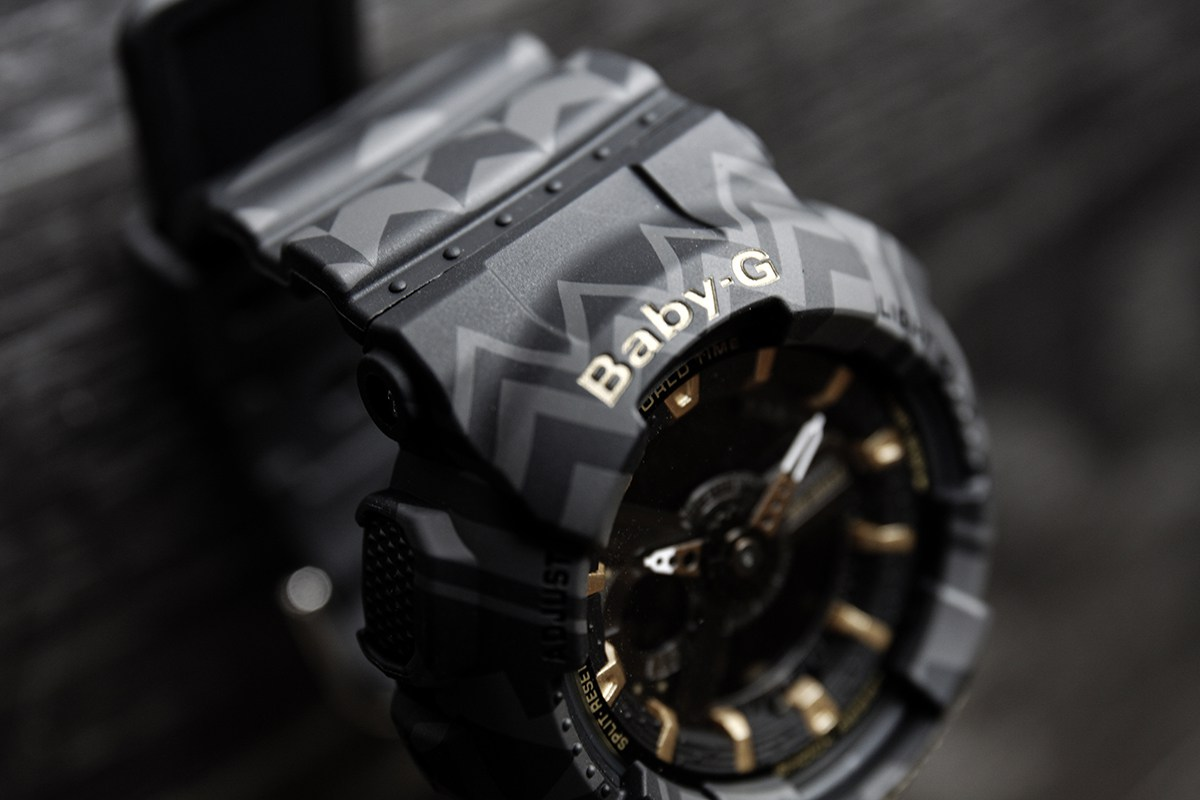 [Live Photos] Baby-G BA-110TP-1A Tribal Pattern Series