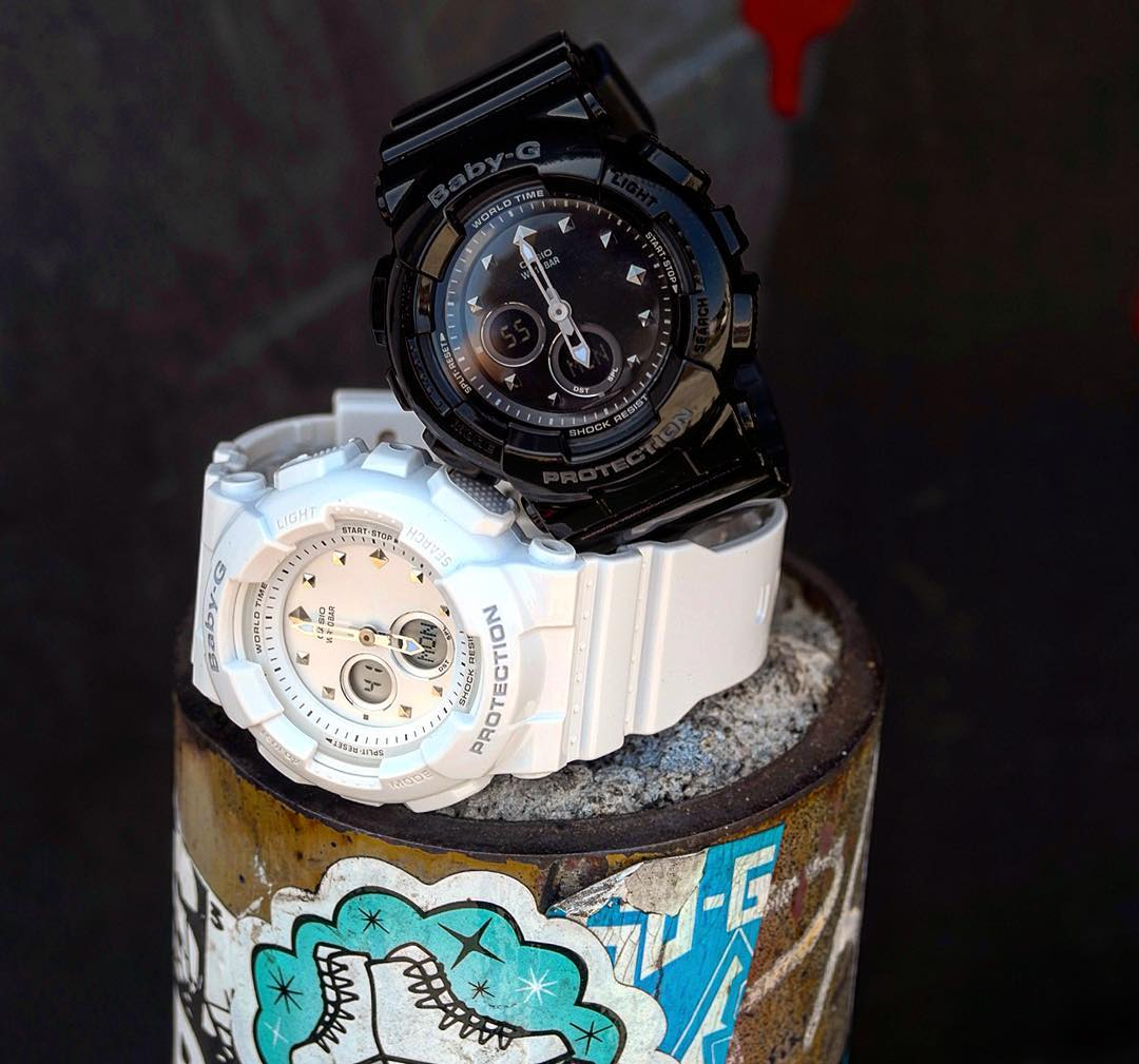 [Live Photos] Baby-G BA-125 is dissolved into street fashion
