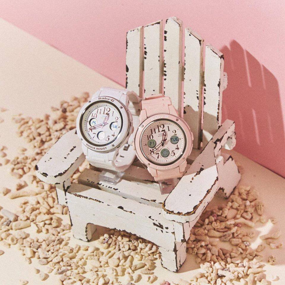 [Live Photos] Baby-G BGA-150 is Perfect for Girly Fashion