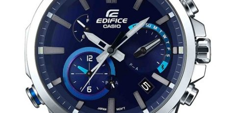 How to set time on Edifice EQB-700 / Casio 5467