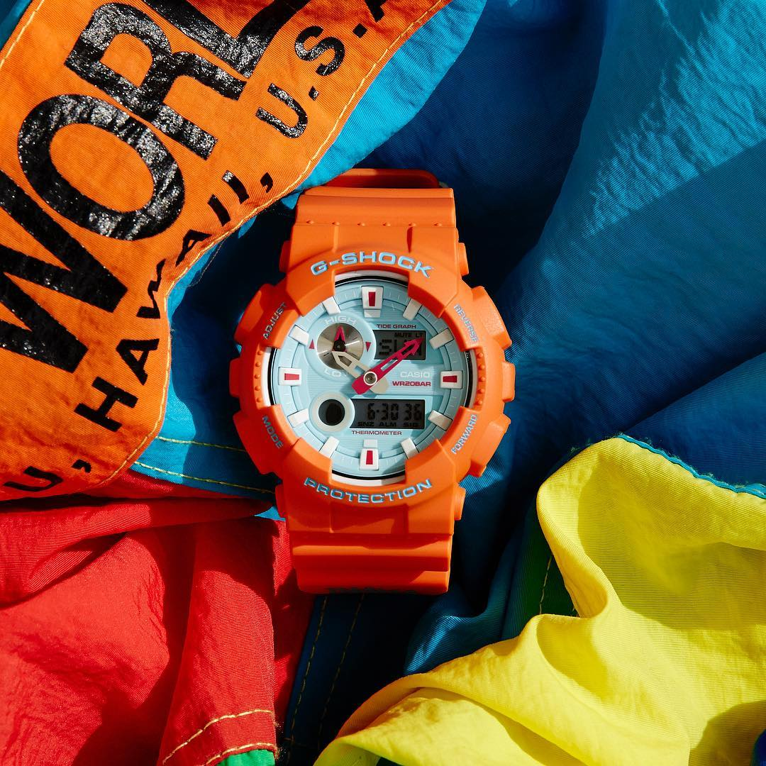 [Live Photos] G-SHOCK × IN4MATION Collab GAX-100X-4AJR