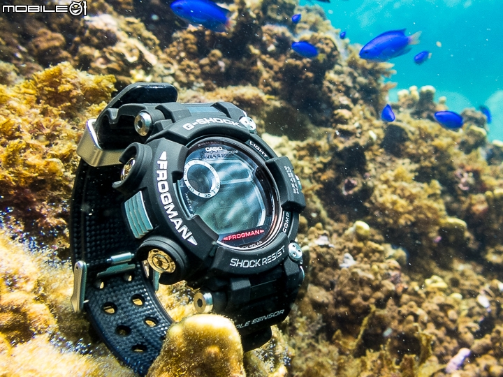 [Live Photos] G-Shock Frog King – GWF-D1000 with quadro sensor