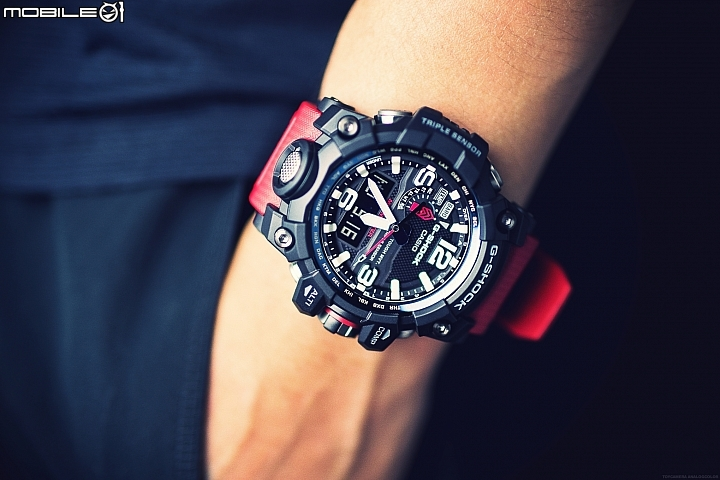 [Live Photos] G-Shock GWG-1000RD-4A From Solid Red Series