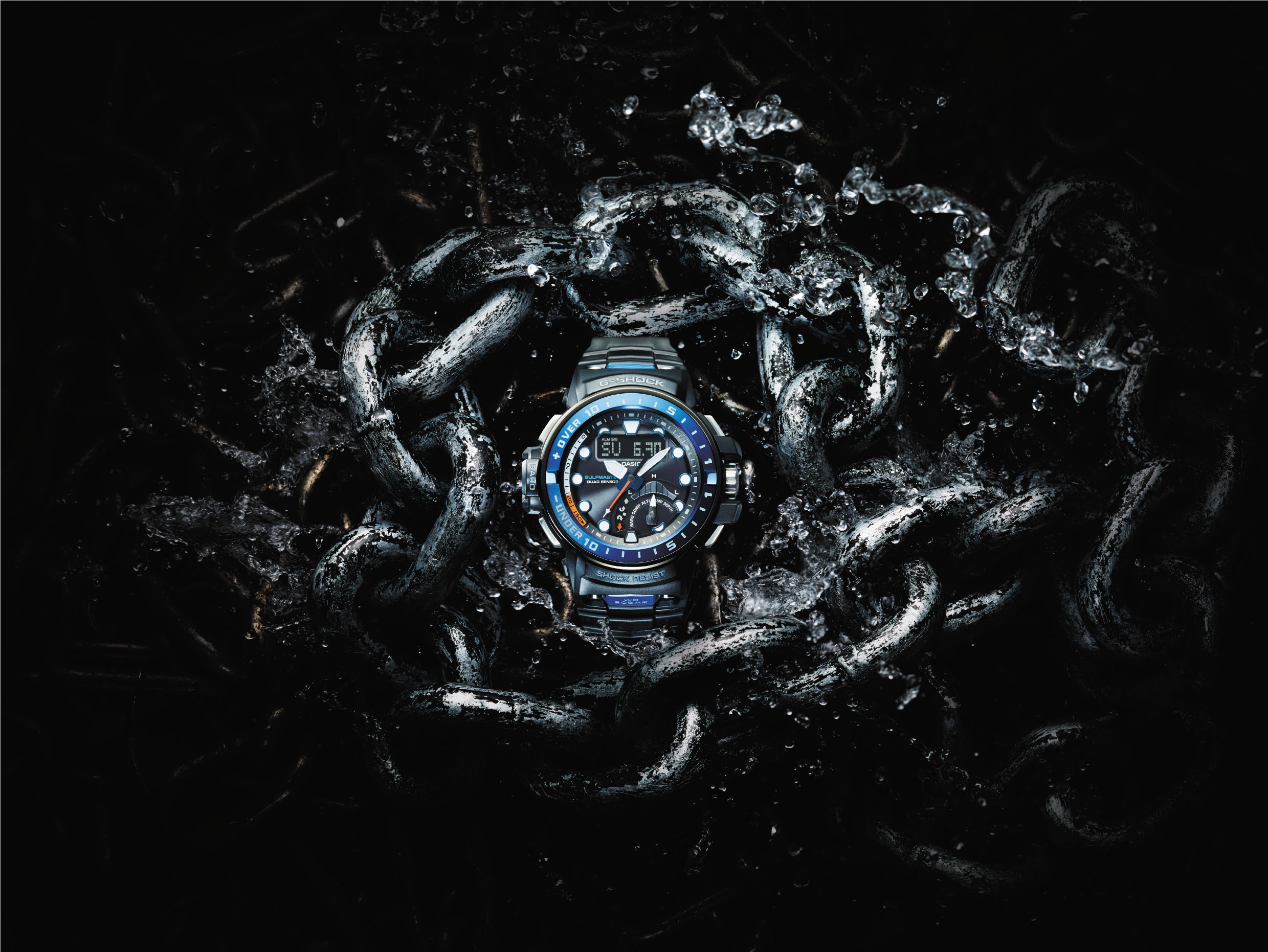 [Official] G-Shock Releases New Gulfmaster With First-Ever Quad Sensor Technology
