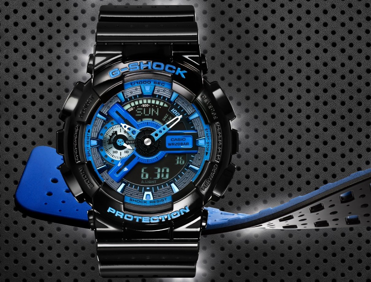 [Official] G-Shock Releases New Military Color Series With Two-Tone Perforated Band