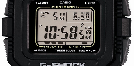 How to set alarm on G-Shock GW-5510 / Casio 3159