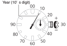 How to set time on G-Shock MRG-G1000 Casio 5411-2