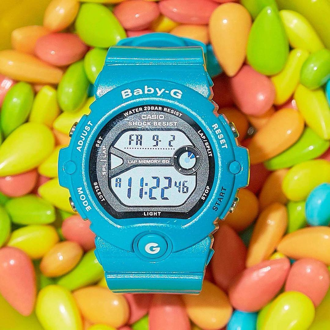 [Live Photos] BABY-G BG-6903-2JF of vitamin color is energetic