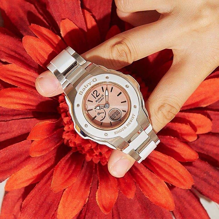 [Live Photos] Baby-G MSG-3300-7B2JF is Perfect for stylish women