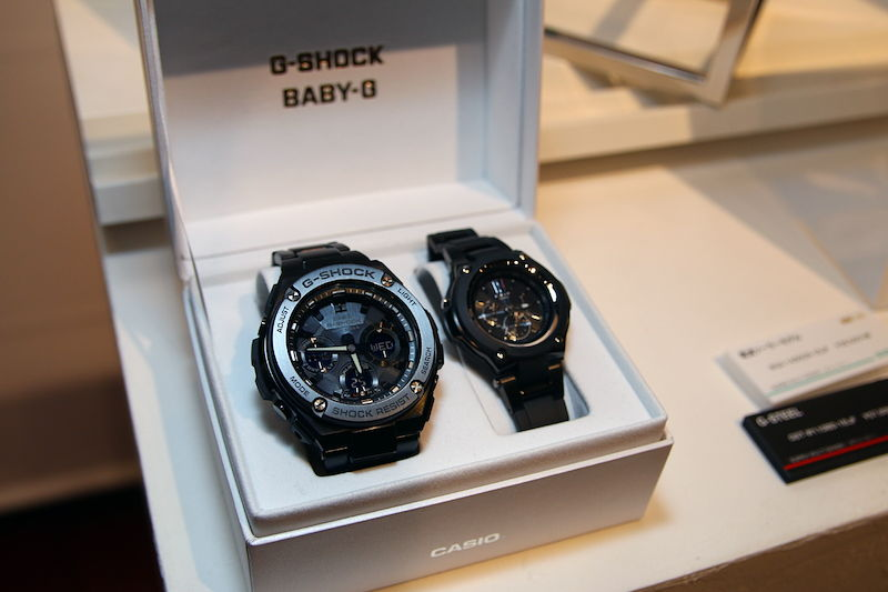 [Live Photos] Baby-G Mono tone-based composite model BGA-1400