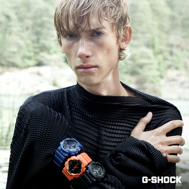 [Live Photos] G-Shock GA-100L Layered Colors series by Odalisque Magazine