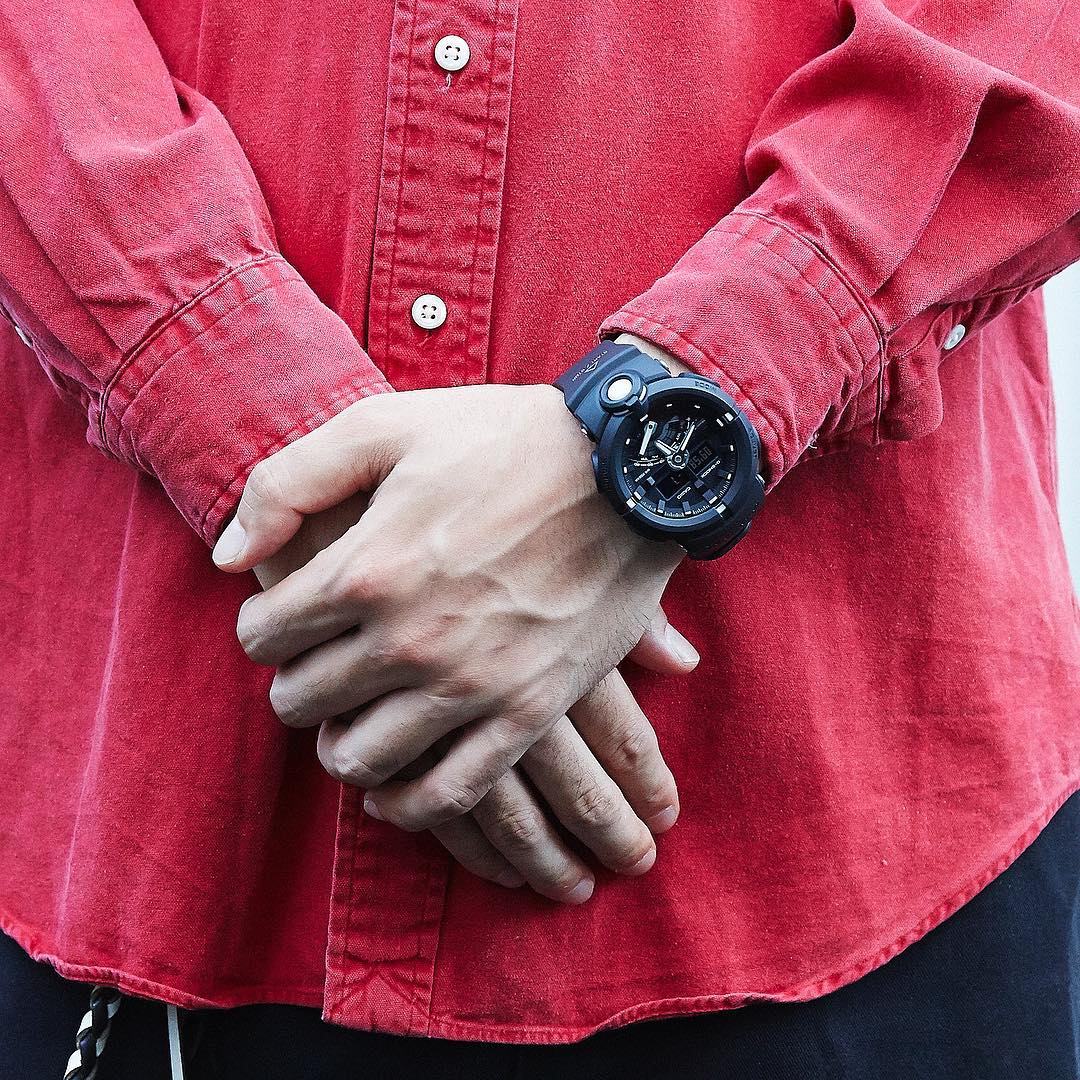 [Live Photos] G-Shock GA-500-1AJF with large front-facing button
