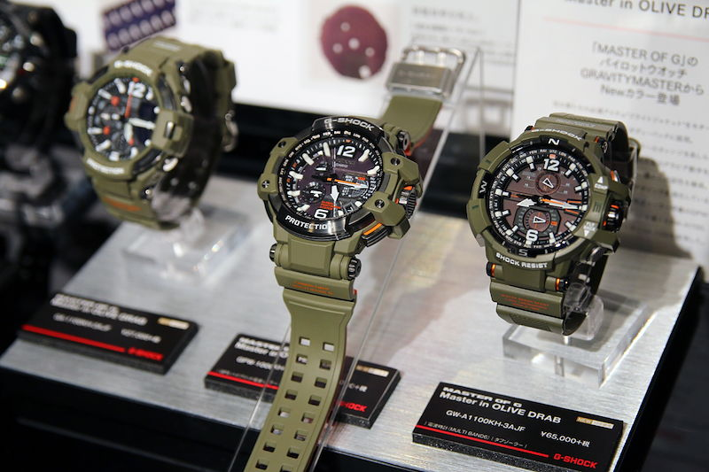 [Live Photos] G-Shock GRAVITYMASTER Master in OLIVE DRAB Series