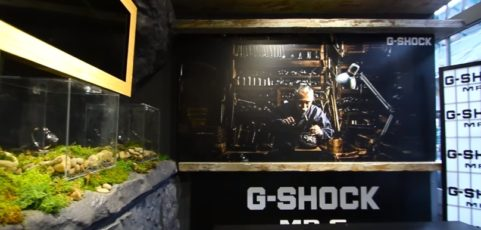 [Video] G-Shock MR-G 20th Anniversary Event in London