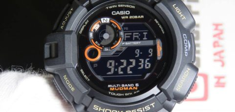[Live Photos] G-Shock Mudman Master In Desert Camouflage GW-9300DC-1JF with Carbon Band