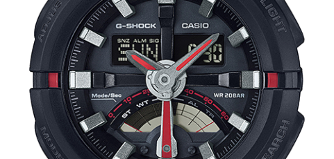 How to set time on G-Shock GA-500 / Casio 5478