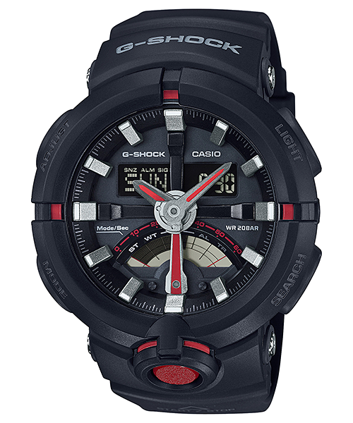 How to set alarm on G-Shock GA-500 / Casio 5478