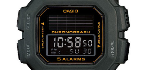 How to set alarm on Casio HDD-S100 / Casio 3274