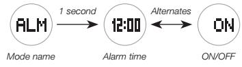 How to set alarm on Baby-G BGA-190 Casio 5382-2