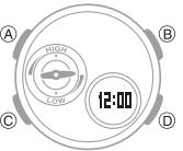 How to set alarm on Baby-G BGA-220 Casio 5482-1