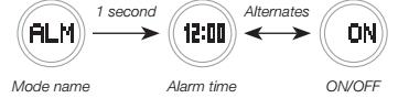 How to set alarm on Baby-G BGA-220 Casio 5482-2