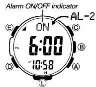 How to set alarm on ProTrek PRW-3500 Casio 3414-1
