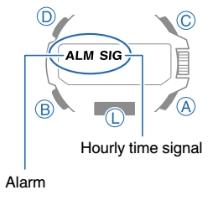 How to set alarm on ProTrek PRW-6100 Casio 5470-4