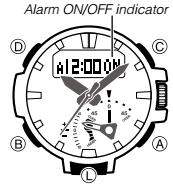 How to set alarm on ProTrek PRW-7000 Casio 5480-1