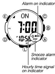 How to set alarm on ProTrek PRW-S3100 Casio 3444-3