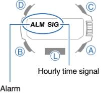 How to set alarm on ProTrek PRX-8163 Casio 5470-4