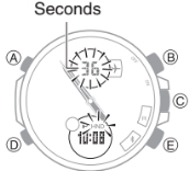 How to set time on Edifice ECB-500 Casio 5427-2